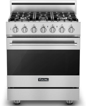 Viking RVGR33015BSS 3 Series 30 Inch Stainless Steel Gas Convection on