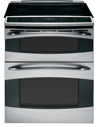 GE PS978STSS Profile Series Slide-in Electric Range with Smoothtop Cooktop Oven 4.4 cu. ft. Primary Oven Capacity