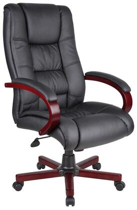 "Boss AELD72MBK 27"" Contemporary Office Chair"