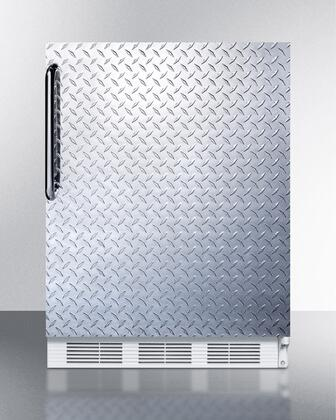"AccuCold FF6BI7X 24"" ADA Compliant Commercial All-Refrigerator with Automatic Defrost, Adjustable Shelves, Fruit and Vegetable Crisper, and Interior Light:"
