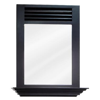 "Bath Elements MIR07LINDLEY Bath Elements 25.5"" x 30"" Lindley Mirror with 4"" shelf and Beveled glass"