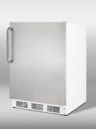 Summit SCFF55SSTB  Freezer with 5 cu. ft. Capacity in White
