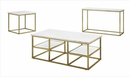 Donny Osmond Home 720418SET Home Accents Living Room Table S