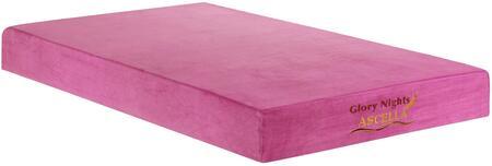 Glory Furniture GN2220F Ascella Pink Series Full Size Memory Foam Top Mattress