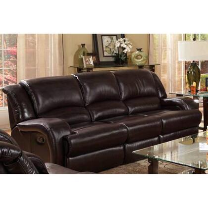 Novo Home 98803RR Cavatina Series Stationary Leather Match Sofa