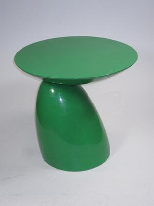 Fine Mod Imports FMI1145GREEN modern/contemporary Oval End Table
