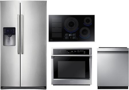Samsung 1011413 4 piece Stainless Steel Kitchen Appliances Package