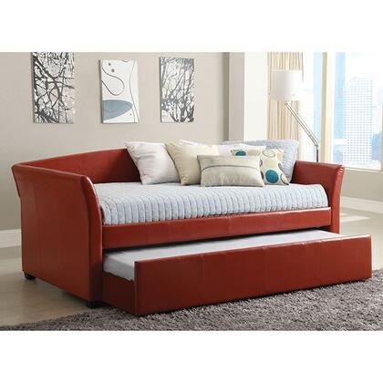 Furniture of America CM1956RDBED Delmar Series  Twin Size Daybed Bed