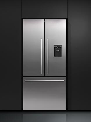 Fisher Paykel RF201ADUSX4  Counter Depth French Door Refrigerator with 20.1 cu. ft. Total Capacity