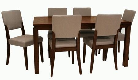 Chintaly LIDIADTSET Lidia Dining Room Sets