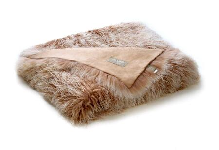 "Auskin Auskin TLT15X18 70"" x 60"" Tibetan Sheepskin Wool Throw in"