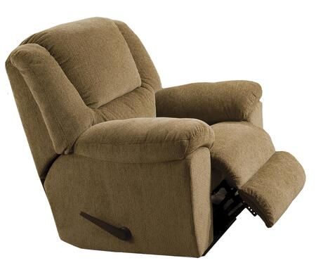 """Catnapper Transformer Collection 1940-5- 43"""" Chaise Swivel Glider Recliner with Pub Back, Pillow Top Arms and Chenille Fabric Upholstery in"""