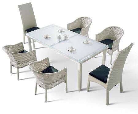 VIG Furniture VGHTH10 Modern Rectangular Shape Patio Sets