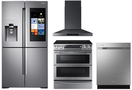 Samsung Appliance SAM4PCFSFDWMFI30ESSKIT1 Kitchen Appliance