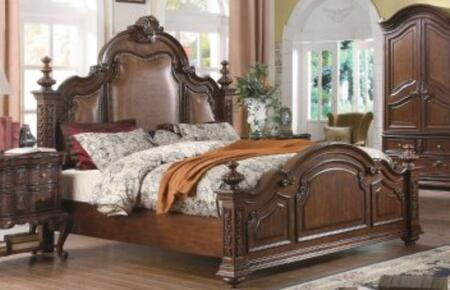 Yuan Tai RS5271K Ramses Series  King Size Panel Bed