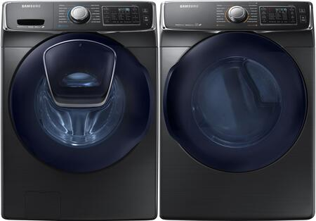 Samsung 691540 Black Stainless Steel Washer and Dryer Combos