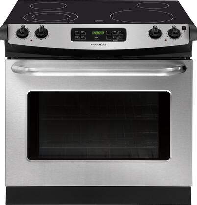 """Frigidaire FFED3025PS 30""""  Drop-In Electric Range with Smoothtop Cooktop, 4.6 cu. ft. Primary Oven Capacity, in Stainless Steel"""