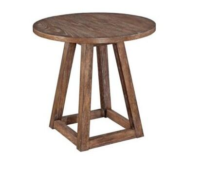 Broyhill 3690000 Tadley Series Transitional Round End Table
