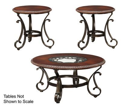 Milo Italia TA477CT2ET Madyson Living Room Table Sets