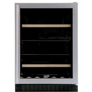 "Marvel 6BARMBBGR 23.875"" Built In Wine Cooler, in Black"
