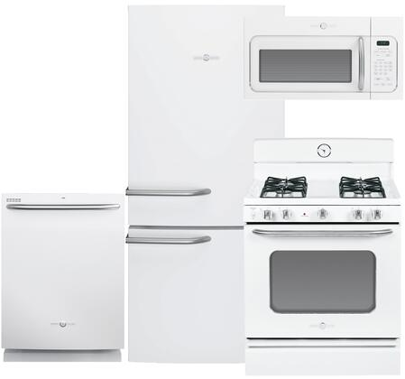 GE GE4PCFSBF30GFIWKIT2 Artistry Kitchen Appliance Packages