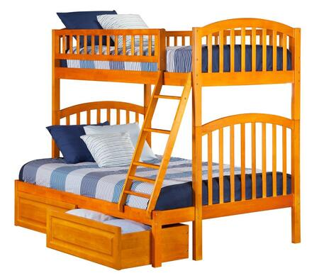 Atlantic Furniture AB64227  Twin over Full Size Bunk Bed