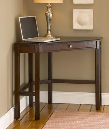"""Hillsdale Furniture 862S Solano 44"""" Wide Desk with Keyboard Tray, Solids and Wood Composites in"""