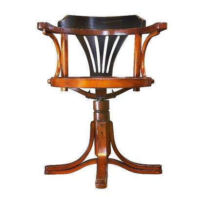 """Authentic Models MF08X Purser's Chair, 24"""" with Maple & Plywood Material"""
