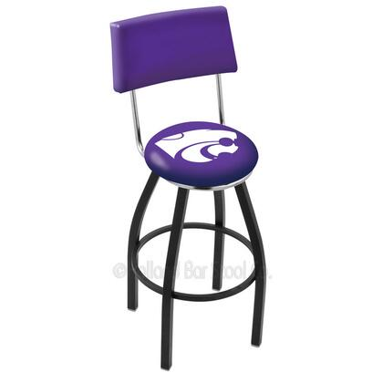 Holland Bar Stool L8B430KNSASS Residential Vinyl Upholstered Bar Stool