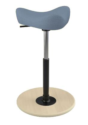 "Varier MOVE SMALL 2700 BREEZE FUSION 22"" - 32"" Sit-Stand Chair with Breeze Fusion Upholstery,"