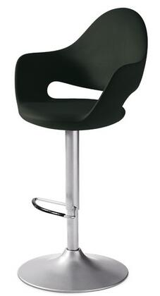 Domitalia SOFTASNEZ15 Soft Series Polyurethane Upholstered Bar Stool