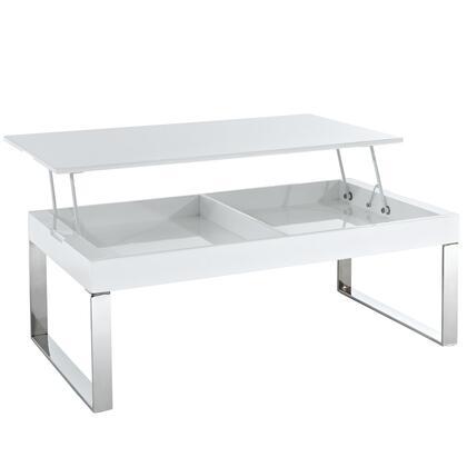 Modway EEI662WHI White Modern Table