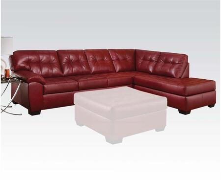 Acme Furniture 50440 Shi Series Stationary Bonded Leather Sofa