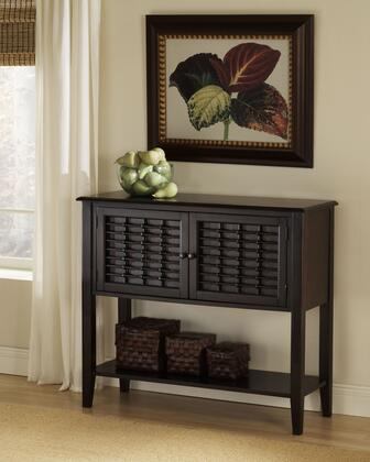 Hillsdale Furniture 47850 Bayberry Sideboard with 2 Doors, Bottom Shelf, Bamboo Effect and Clean Lines in