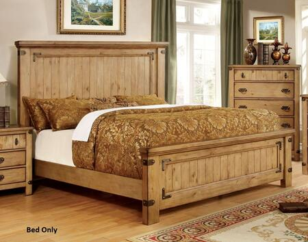 Furniture of America CM7449EKBED Pioneer Series  Eastern King Size Bed