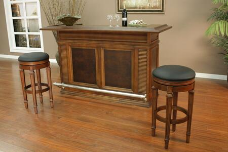 "American Heritage 713600I Sonata Series 74"" Home Bar,"
