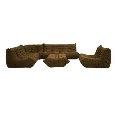 Wholesale Interiors K89BROWN  Modular Sofa
