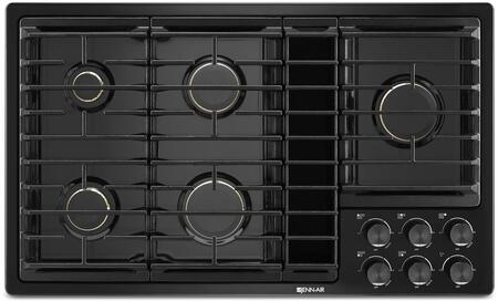 Jenn-Air JGD343G Gas Downdraft Cooktop with Sealed Burners, Knob Controls, 17000 BTU Ultra-High Output Burner, and Melt Cap, in