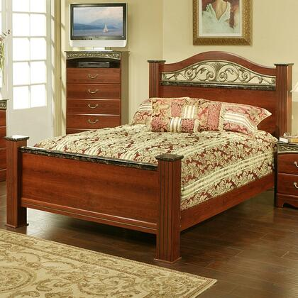 Sandberg 330G Durban Series  Queen Size Poster Bed