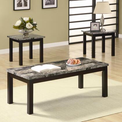 "Coaster 701523 48.00"" Contemporary Living Room Table Set"