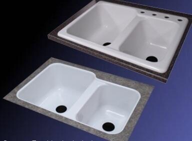 Lyons DKS02VETB4 Kitchen Sink