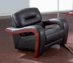 Global Furniture USA 992R2VBLCH Ultra Bounded Leather with Wood Frame