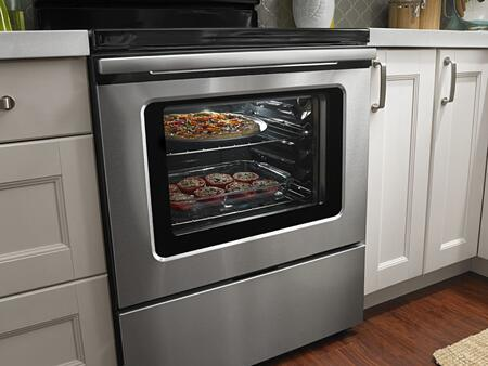 Amana Aer5630bas 30 Inch Electric Freestanding Range With