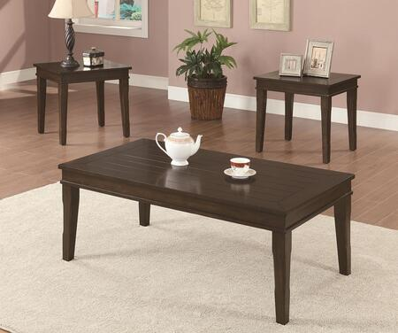 Coaster 702292 Contemporary Living Room Table Set