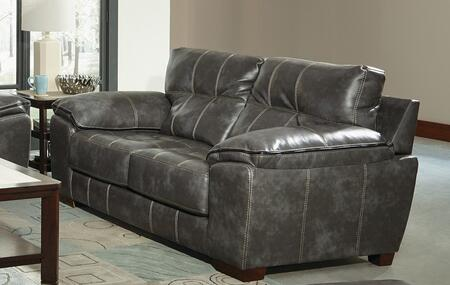 "Jackson Furniture Hudson Collection 4396-02- 79"" Loveseat with Pillow Top Arms, Tufted Detailing and Block Feet in"