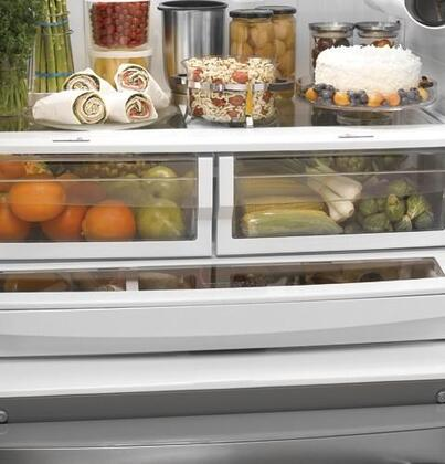 Ge Pfss9pkyss Profile Series French Door Refrigerator With