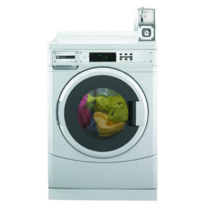 """Maytag MHN30PDBWW 27""""  Front Load Washer with 3.1 cu. ft. Capacity  