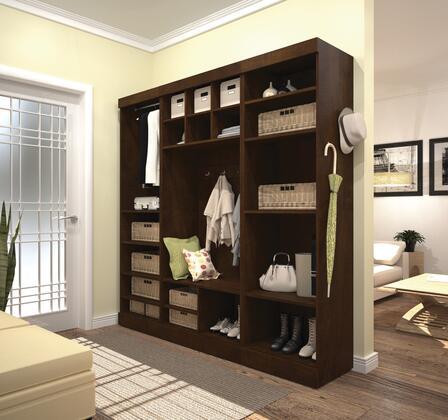"""Bestar Furniture 26873 Pur by Bestar 86"""" Mudroom kit"""