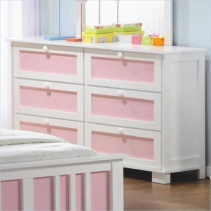 Coaster 400253 Lindsley Series Childrens Wood Dresser