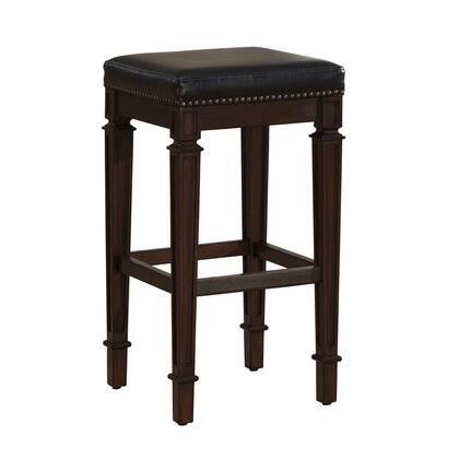 American Heritage 111144 Residential Bonded Leather Upholstered Bar Stool
